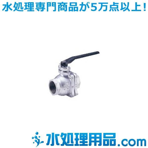 キッツ 鋳鉄バルブ ボール 10FCT型 1.5インチ(40A) 10FCT-1.5
