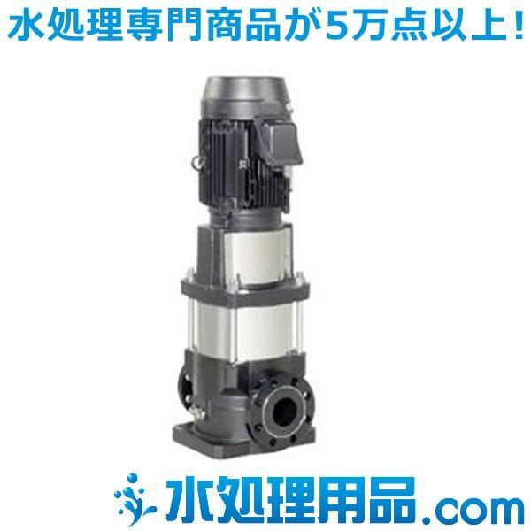 エバラポンプ EVMG型 ステンレス製立形多段ポンプ 60Hz 25EVMS961.5