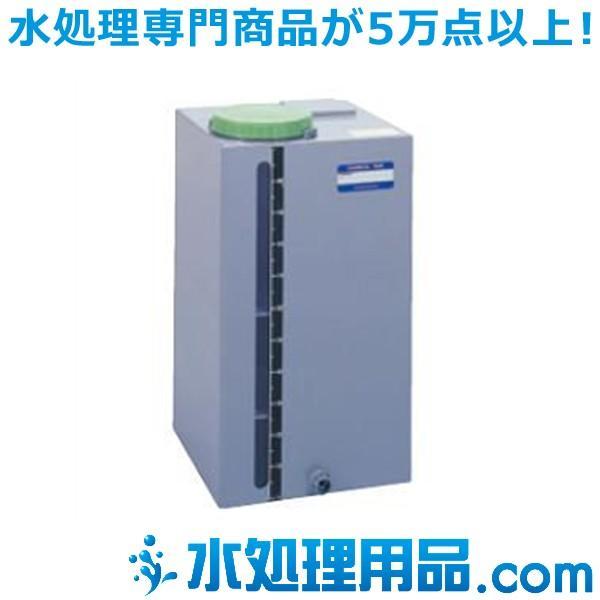 タクミナ ケミカルタンク PVC角型鉄枠なし 100L PVC-100 P