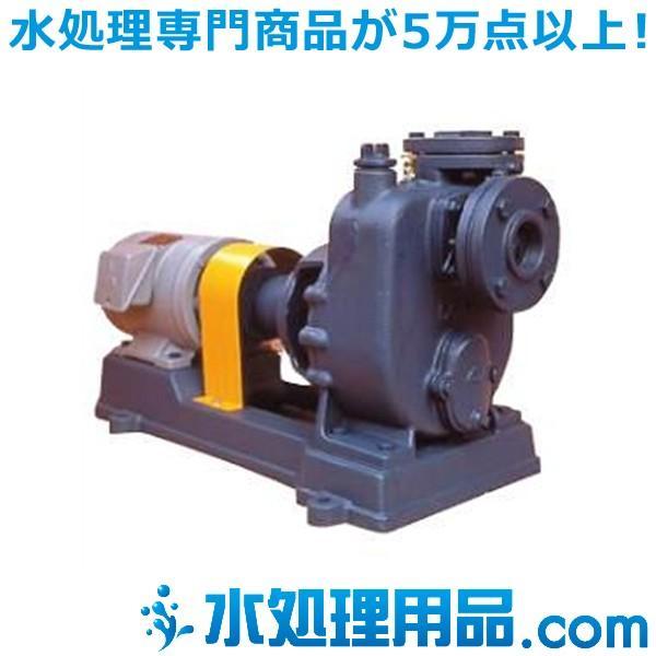 寺田ポンプ製作所 陸上ポンプ 鋳鉄製 直結自吸式 P形 60Hz 屋外モーター付き 40-P-3E