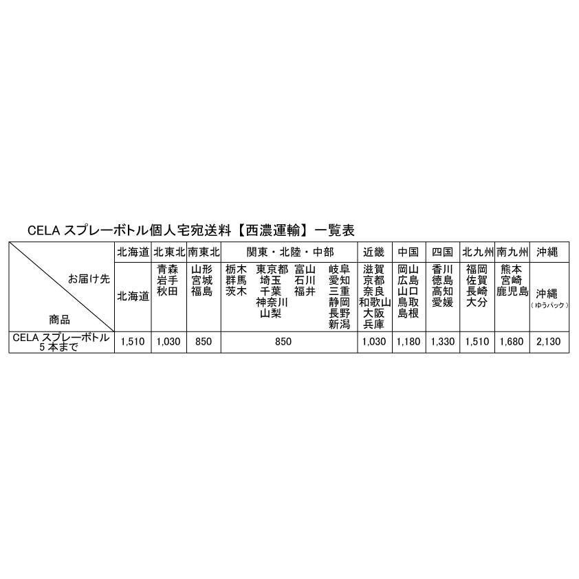 弱酸性次亜塩素酸水CELA 300ml入りスプレーボトル【個人宅宛配送商品】|mizudamashii|02