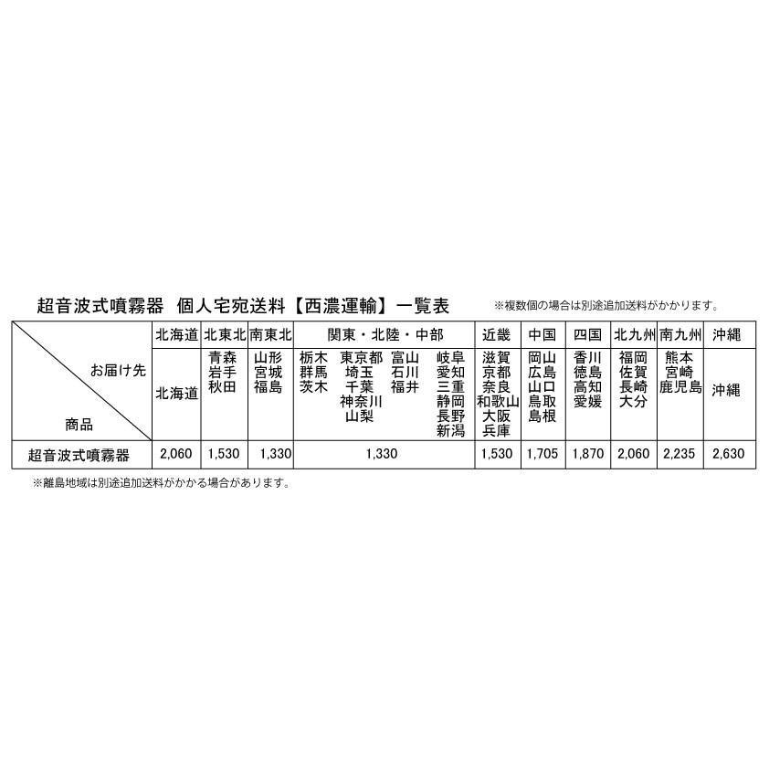 CELA(セラ)専用超音波式噴霧器スタンダードタイプ【個人宅宛配送商品】 mizudamashii 04