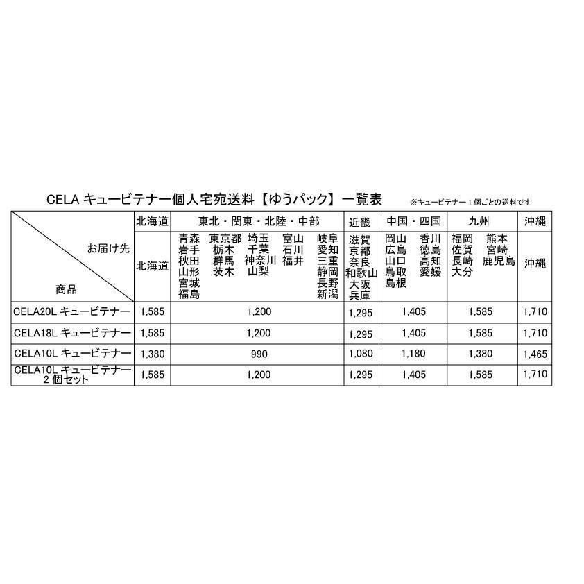 弱酸性次亜塩素酸水CELAキュービテナー10L×2個セット【個人宅宛配送商品】 mizudamashii 04