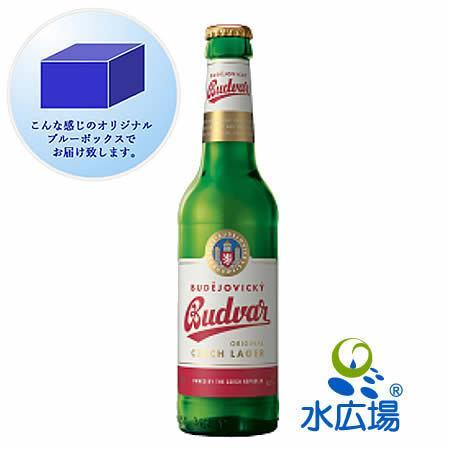 ビール  送料無料 チェコビール ブドバーBudvar 330ml瓶12本 正規輸入品 mizuhiroba-jp