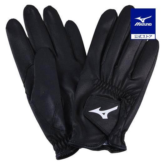 ミズノ公式 ジョッキー手袋 ユニセックス ブラック