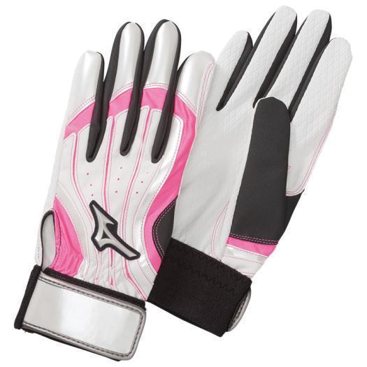 ミズノ公式 手袋ロングタイプ 両手 パークゴルフ レディース ピンク
