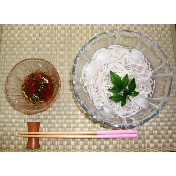 レンコン手延そうめん (200g) mizunokokai 04