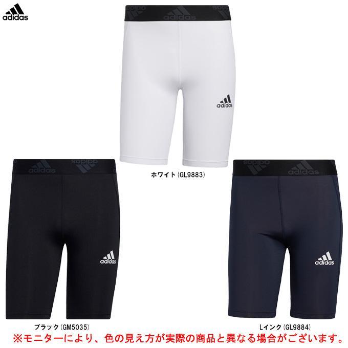 adidas(アディダス)テックフィット ショートタイツ(47886)スポーツ トレーニング ランニング コンプレッション スパッツ インナー ウェア 男性用 メンズ