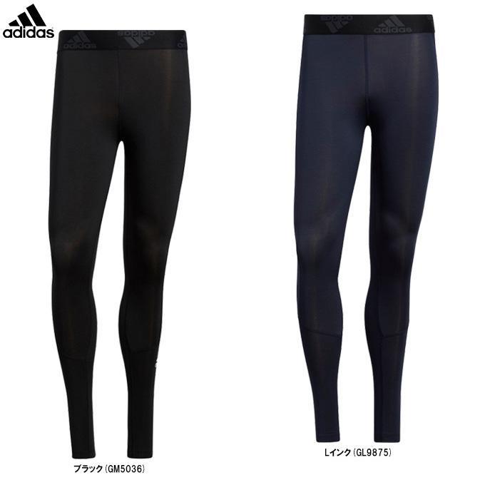 adidas(アディダス)テックフィット ロングタイツ(47887)スポーツ トレーニング ランニング コンプレッション スパッツ インナー ウェア 男性用 メンズ