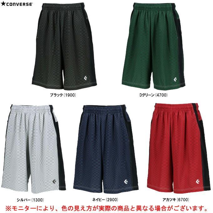 CONVERSE(コンバース)プラクティスパンツ(CB201864)バスケットボール バスケ ハーフパンツ 短パン 吸汗速乾 メンズ
