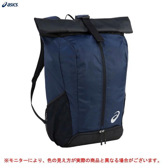 ASICS(アシックス)バックパック40L(EBA652)アウトドア スポーツ リュックサック かばん 鞄 通学 部活 合宿 遠征