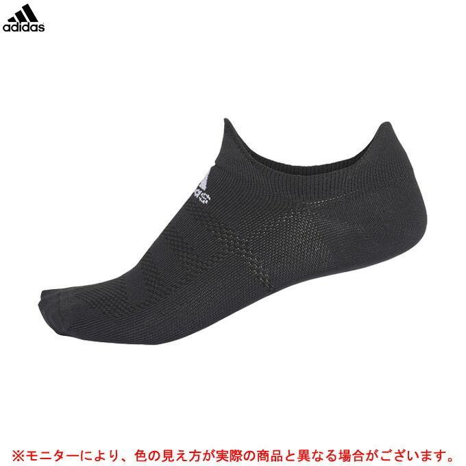 adidas(アディダス)ALPHASKIN ウルトラライト アンクルソックス(ECG34)スポーツ トレーニング ランニング くるぶし丈 アンクル丈 1足組 靴下 一般用