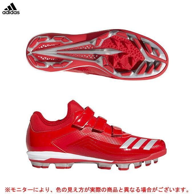 adidas(アディダス)アディゼロ スピードポイント(EE9092)野球 ソフトボール ポイントスパイク トレーニング 練習 スポーツ 軽量 メンズ