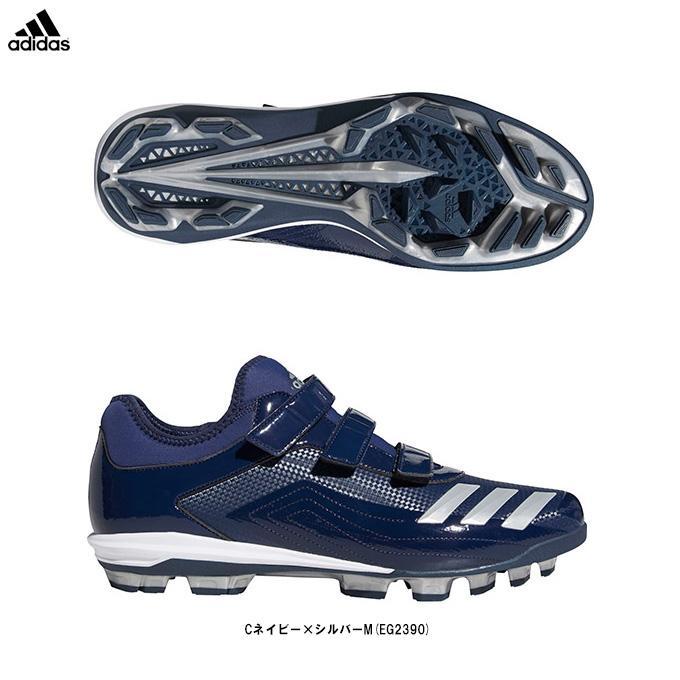 adidas(アディダス)アディゼロ スピードポイント(EG2390)野球 ソフトボール ポイントスパイク トレーニング スポーツ 軽量 メンズ