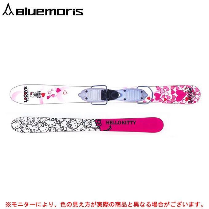 青MORIS(ブルーモリス)ハートフルキティ AR-4ビンディング付 スキーボード ウィンタースポーツ スキー