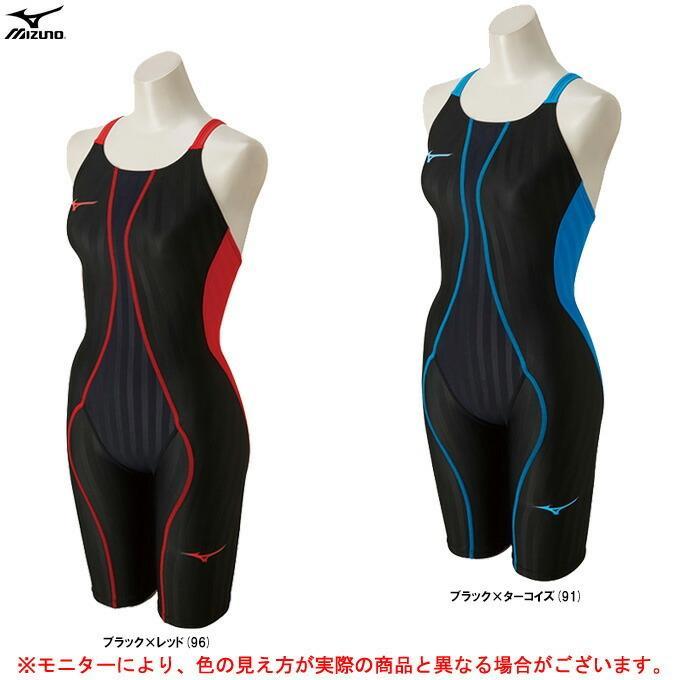 MIZUNO(ミズノ)FX SONIC ハーフスーツ(N2MG8230)FINA承認モデル 水泳 競泳水着 スイミング プール スイムウェア 女性用 レディース