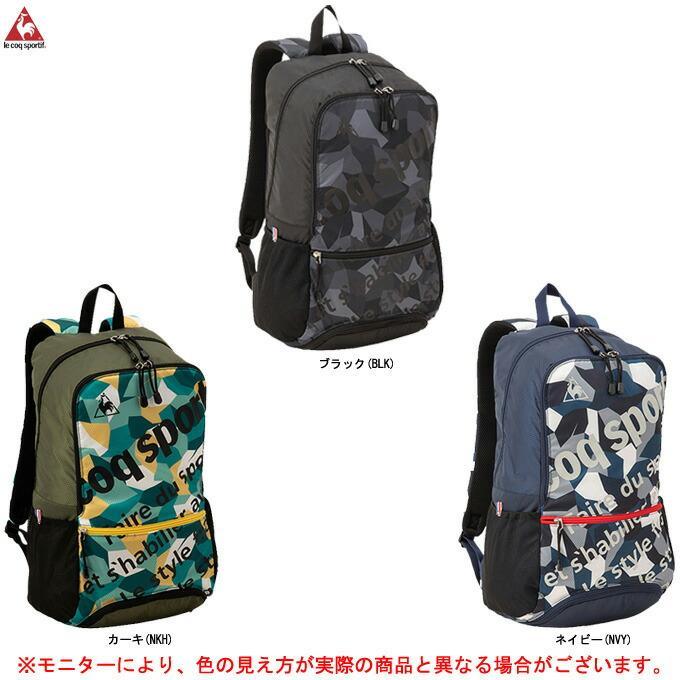 le coq(ルコック)バックパック(QMBNJA08)スポーツ トレーニング リュックサック カジュアル バッグ かばん 鞄 一般用