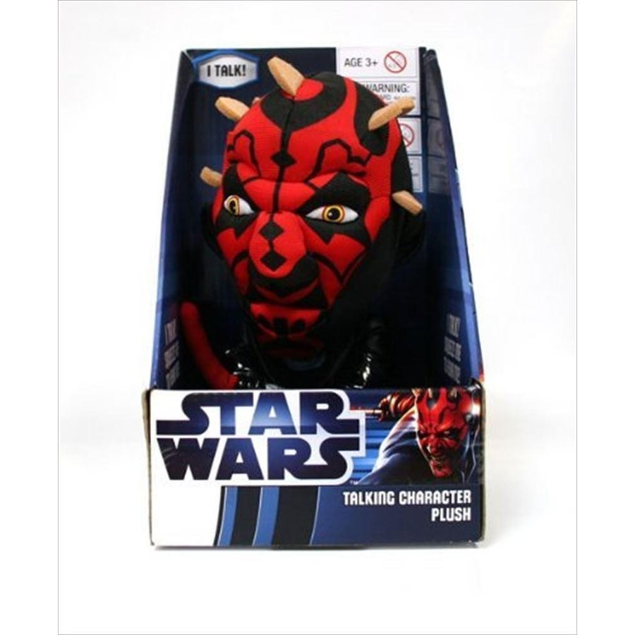 Star Wars スターウォーズ ぬいぐるみ Underground Toys Darth Maul Talking 9