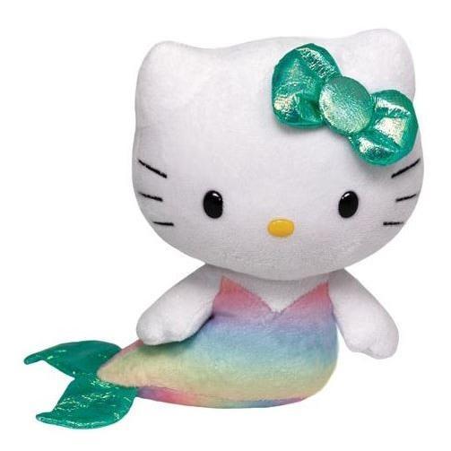 赤いハートマークでお馴染みTy製 ハローキティぬいぐるみ マーメイド Hello Kitty - Mermaid キティ・Ty.inc・タイ・キャラクター・かわいい