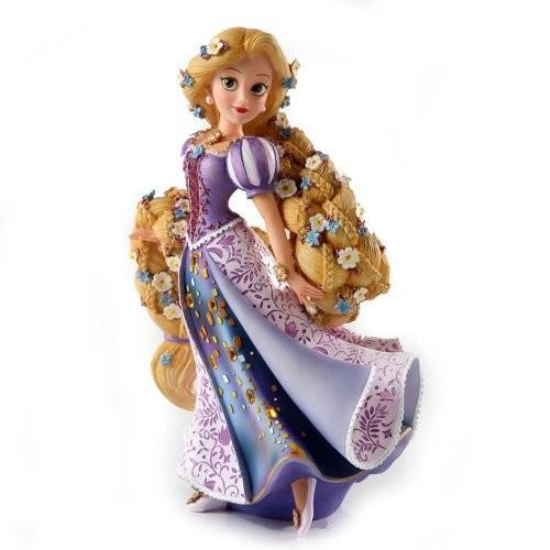 木彫り調 フィギュア エネスコ ディズニー ショーケース 塔の上のラプンチェル ラプンチェル フィギュア 置物 8 インチ Rapunzel Figurine, 8-Inch