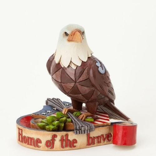 エネスコ ジム・ショア ジムショア ハートウッド クリーク 3.25 インチ 愛国的なワシ フィギュア 置物 ミニ 3.25-Inch Patriotic Eagle Figurine, Mini