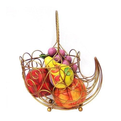エネスコ ジム・ショア ジムショア セット オブ 6 コーニュコーピア ウィズ フルーツ 豊穣の角とフルーツ フィギュア 置物 6つセット 9 インチ