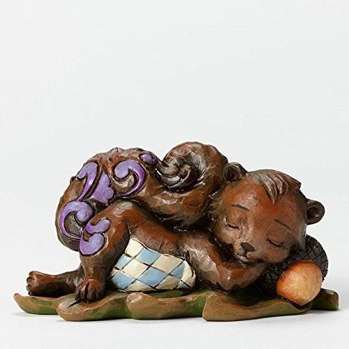エネスコ ジム・ショア ジムショア フィギュリン パイント レイジィ スクワレイ 小さいサイズ リラックスした リス 2.5 インチ Figurine Pint/lazy Squirrel
