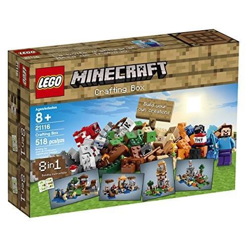 レゴ LEGO製 マインクラフト LEGO Minecraft 21116 Crafting Box /レゴ レゴブロック ブロック クラフトボックス マイクラ 送料無料