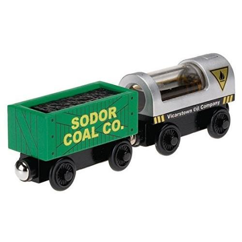 送料無料 きかんしゃトーマス 木製レールシリーズ Oil and Coal Cargo