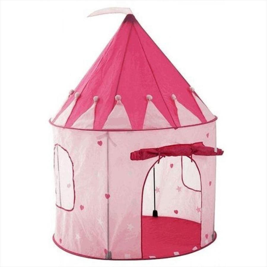 Pockos ポコス ピンクプリンセス お城ごっこ プレイテント Girl's ピンク Princess Castle Play Tent - Indoor / Outdoor おもちゃ 子供用 プレゼント