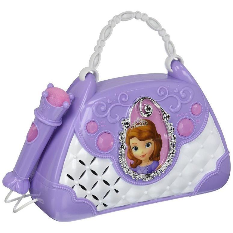プリンセスソフィア ハンドバッグ型スピーカー カラオケ 玩具 ディズニー