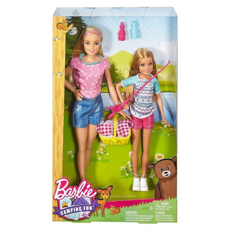 2016 Barbie バービー Camping Fun Barbie バービー Stacie