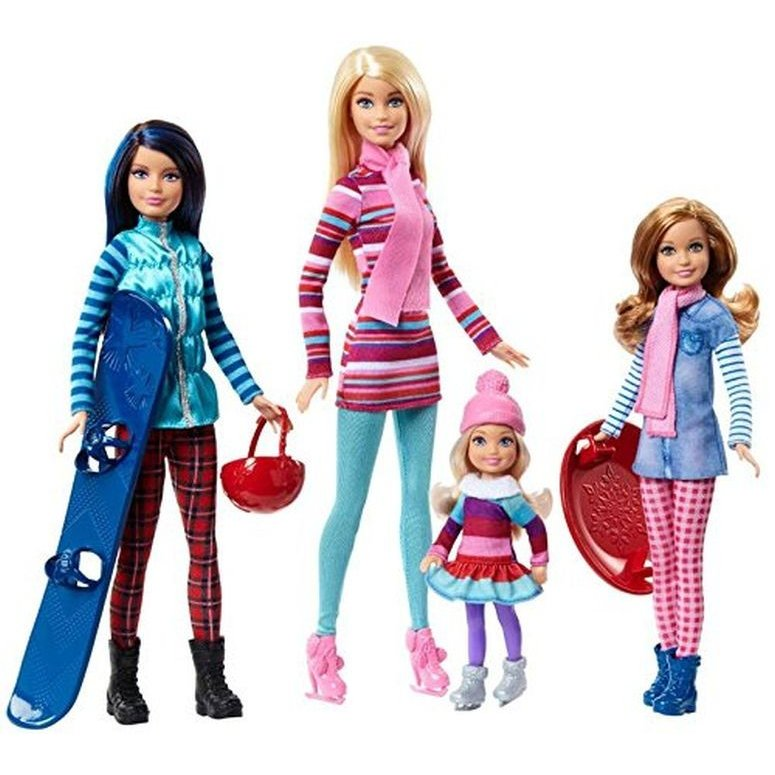 Barbie バービー Sisters Winter Getaway Fashion doll 人形s