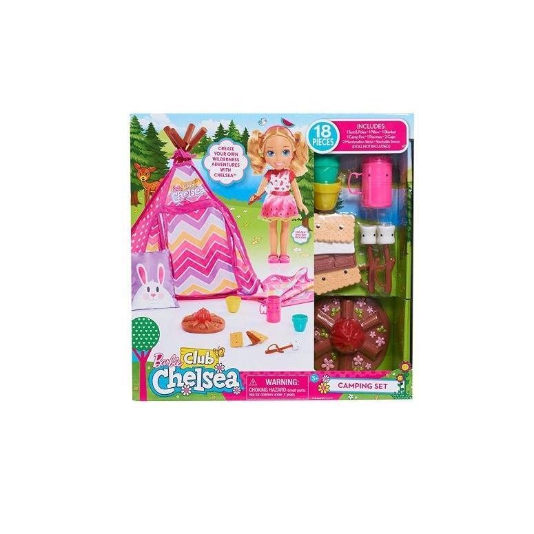 Barbie バービー Club Chelsea Camping set