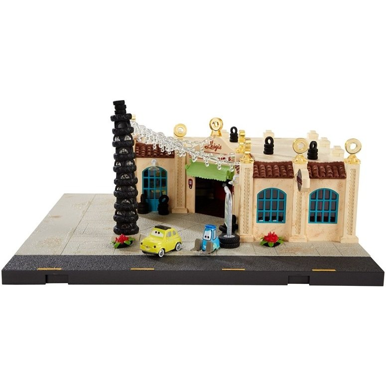 ディズニー ピクサー カーズ プレシジョン Disney/Pixar Cars Precision Series Luigi's Casa Della Tires Playset