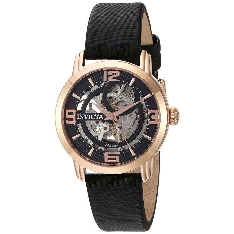 有名なブランド インビクタ Invicta ウォッチ インヴィクタ インヴィクタ 女性用 腕時計 レディース ウォッチ ブラック 22656 22656, コウカシ:f65d10dc --- airmodconsu.dominiotemporario.com