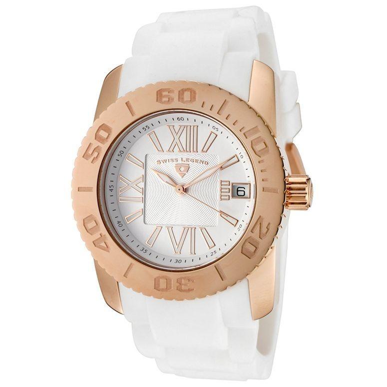 【新作入荷!!】 スイスレジェンド Swiss Legend 女性用 腕時計 レディース ウォッチ ホワイト 10114-RG-02, ミトヨグン 04a87b34