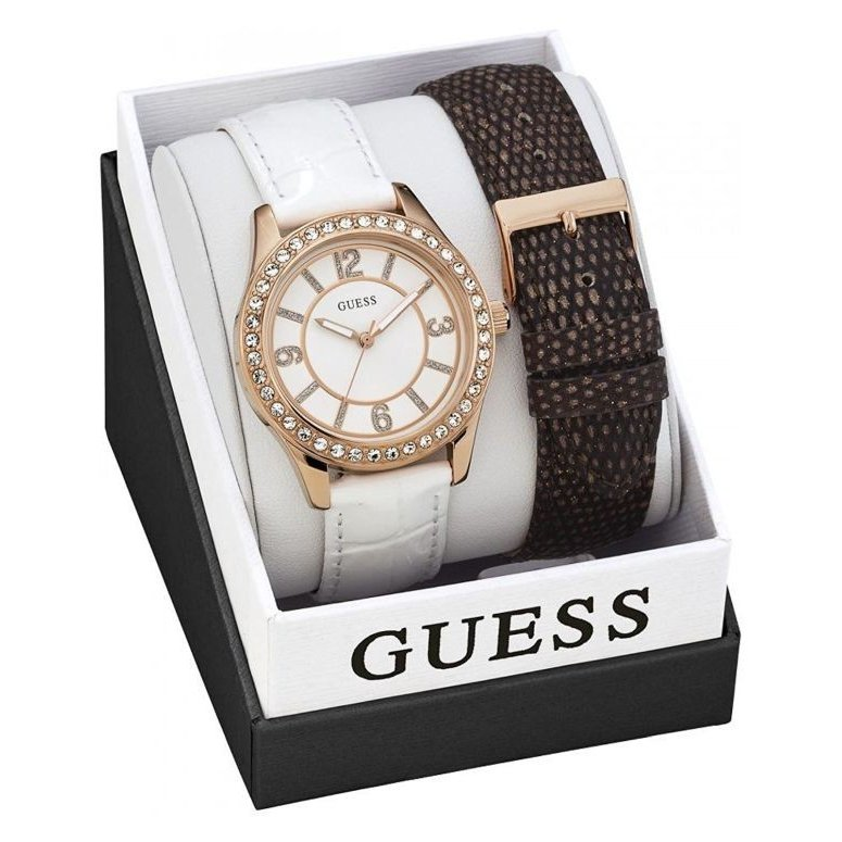高品質の激安 ゲス GUESS 女性用 腕時計 レディース ウォッチ ホワイト W0512L1, 激安オフィス家具オフィスコム bb79ccc7