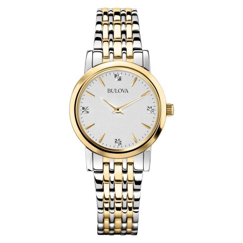 買い保障できる ブローバ Bulova 女性用 女性用 腕時計 レディース レディース ブローバ ウォッチ シルバー 98P115, おひさまくらぶ:e0da3dc7 --- chizeng.com