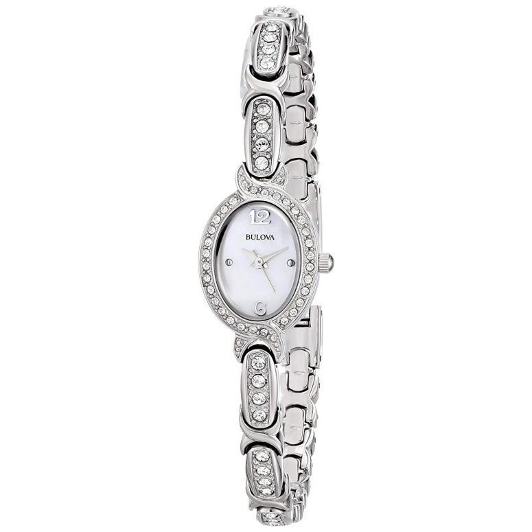 春先取りの ブローバ Bulova 女性用 腕時計 レディース ウォッチ パール 96L199, ベップシ 7490dae2