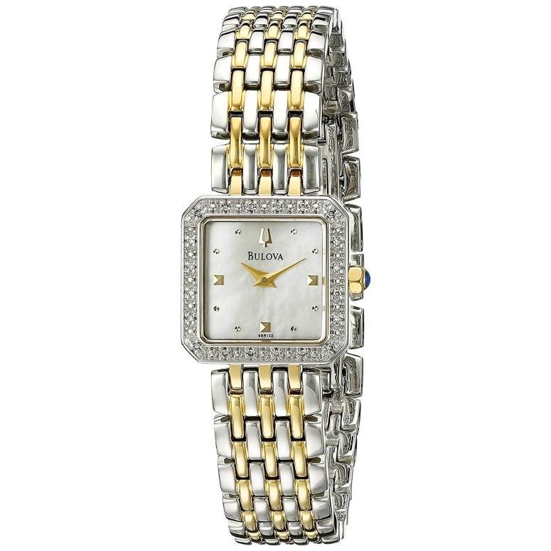 安い割引 ブローバ Bulova 女性用 腕時計 レディース ウォッチ パール 98R132, ケイスポーツ 16b1ab4c