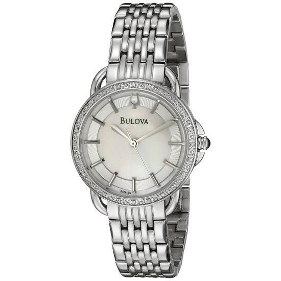 使い勝手の良い ブローバ Bulova 女性用 腕時計 レディース ウォッチ パール 96R146, 松島町 2a7b9804