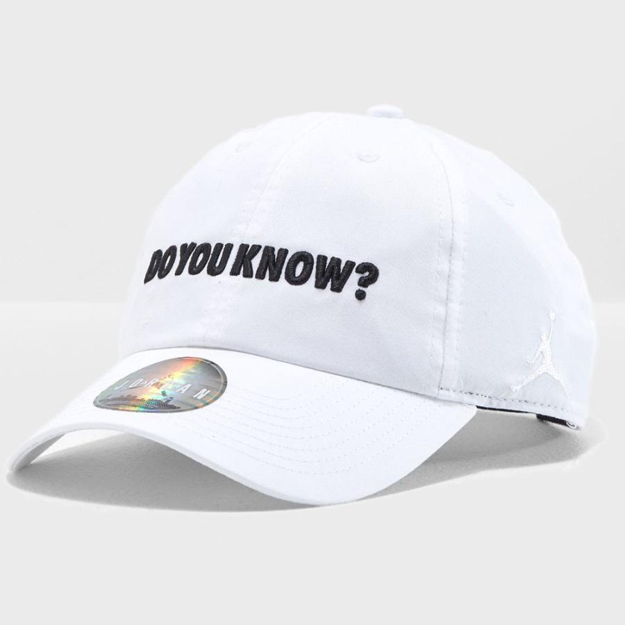 ジョーダン/JORDAN キャップ/帽子 Do You Know ヘリテージ ホワイト ...