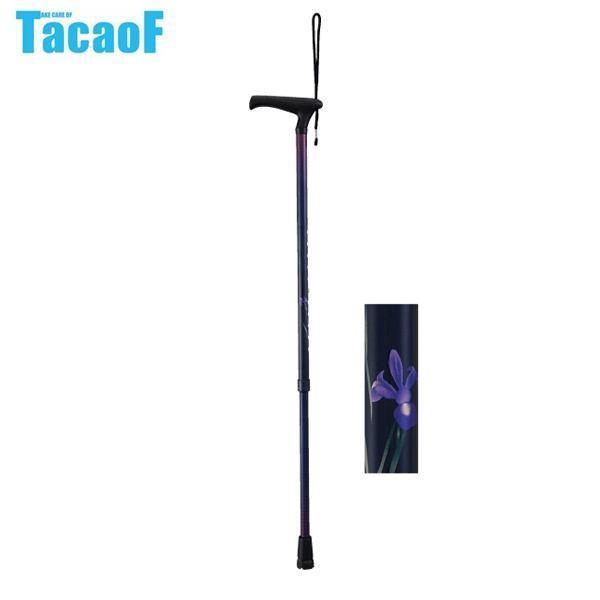 円高還元 幸和製作所 しょうぶ LaTata(ラタタ)-L 伸縮杖 EAU01 テイコブ(TacaoF)-介護用品