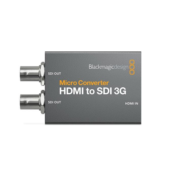 Blackmagic Design Micro Converter HDMI 3G to SDI 在庫あり PSU 高価値 2020モデル