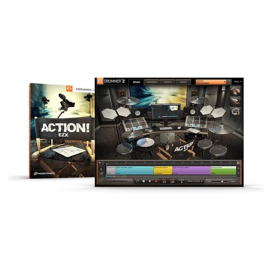TOONTRACK EZX - ACTION 〜7 31 日本産 オンライン納品 在庫あり 期間限定特価キャンペーン 特価キャンペーン