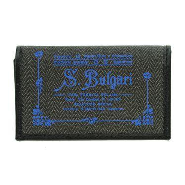 沸騰ブラドン ブルガリ 32436 BLACK 6連キーケース, フジノミヤシ 3b16961e
