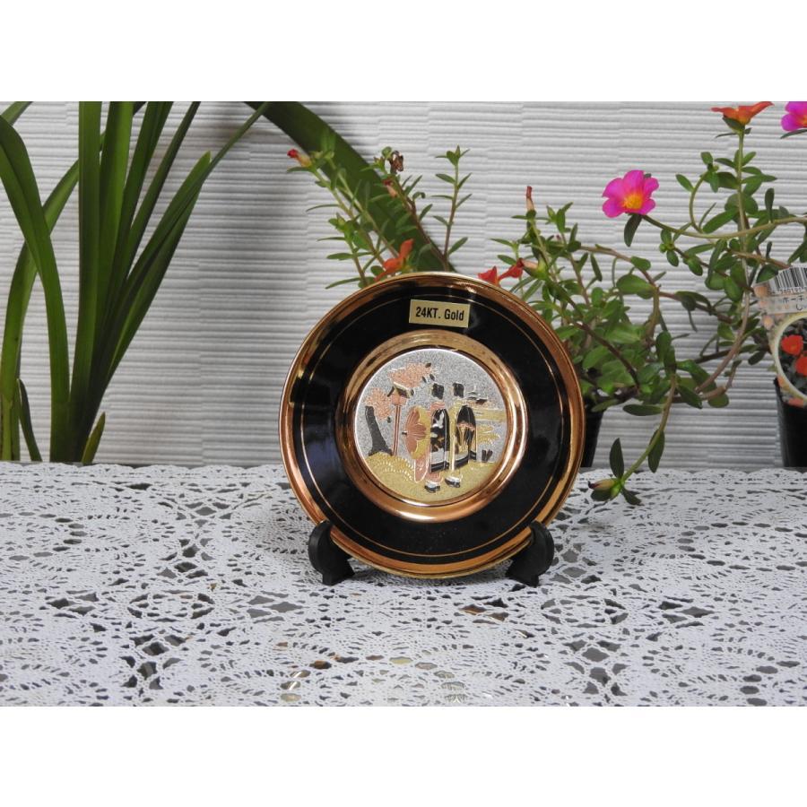 彫金4quot;プレート 黒 舞子 plate quot;MAIKOquot; 全国どこでも送料無料 Chokin 至高