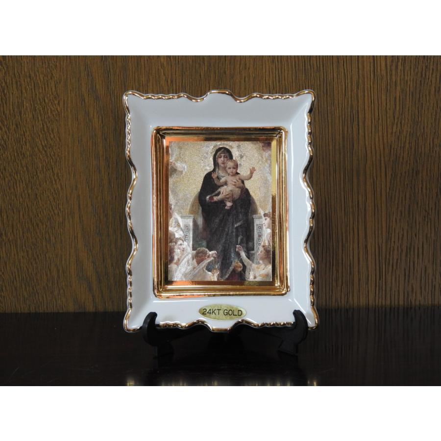 聖母マリア様の角皿 小 新作通販 Maria#039;s 超安い square S plate