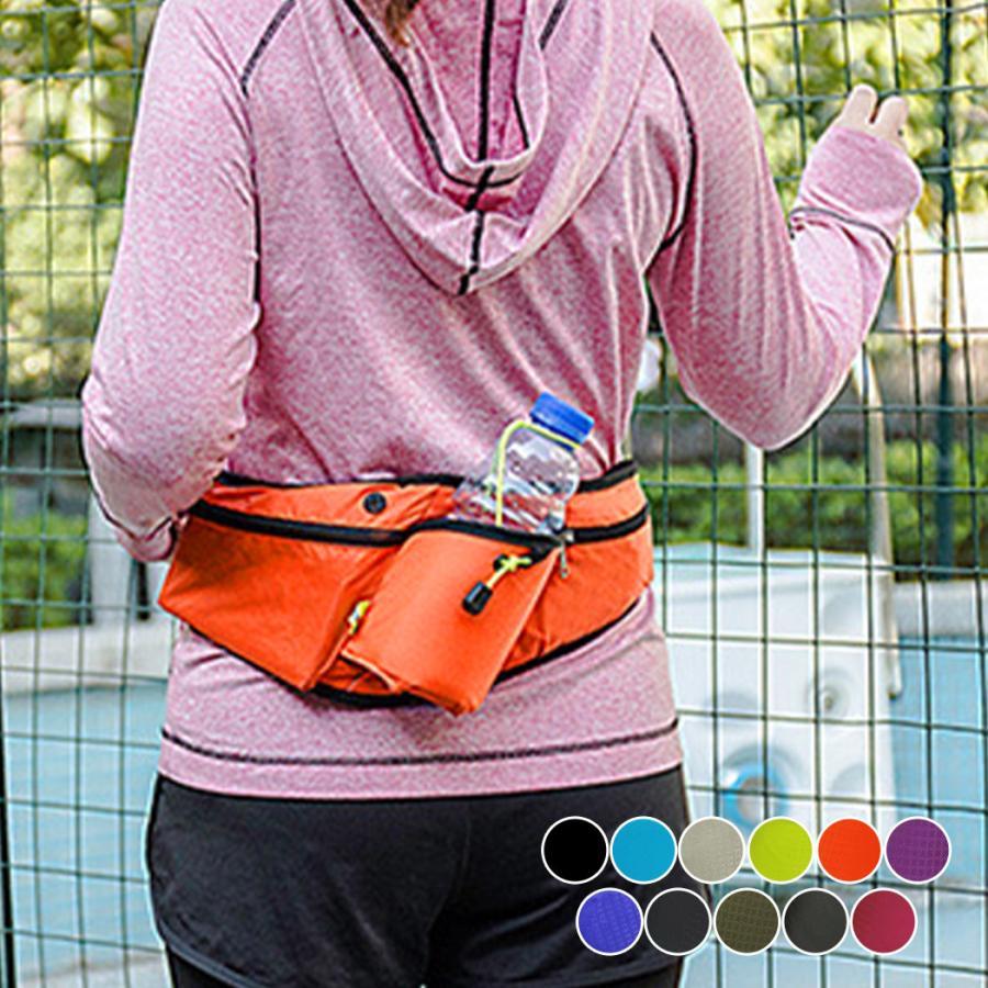 ウエストポーチ メンズ レディース ユニセックス アウトドア 旅行 気質アップ 激安卸販売新品 トレーニング ジョギング 撥水 ランニング ウォーキング 軽量 黒 バッグ